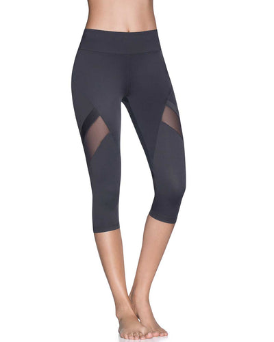 CURRENT PEBBLE EMANA MID RISE CAPRI LEGGING MAAJI 1835ALC01