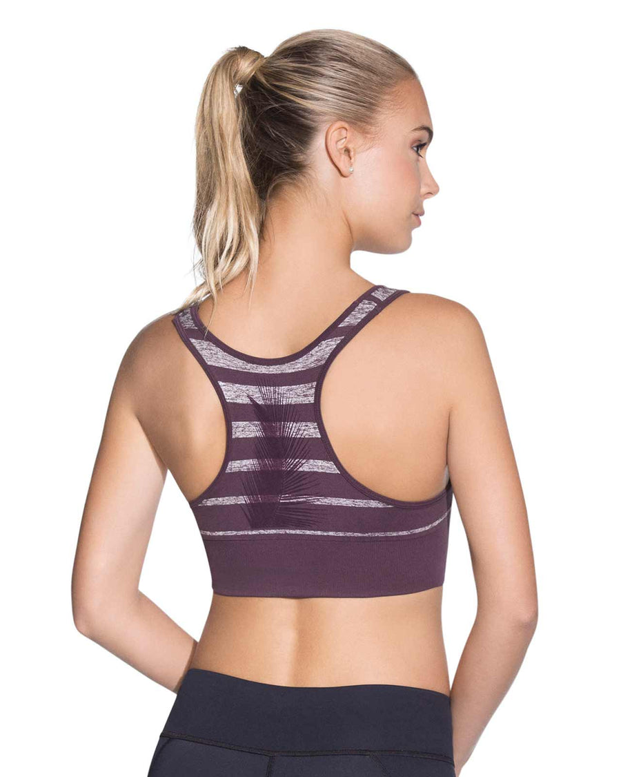 SPHINX AMETHYST SEAMLESS MEDIUM IMPACT SPORTS BRA MAAJI 1836ASB02