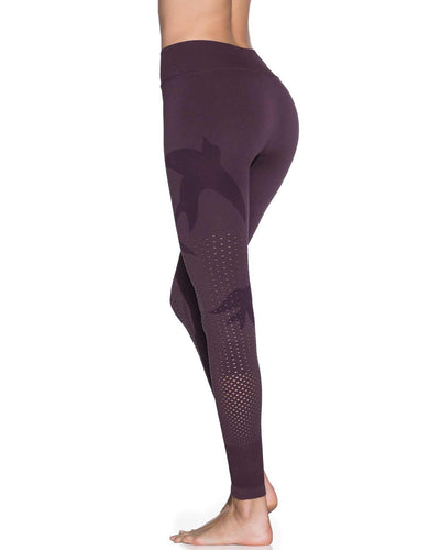 PALOMA AMETHYST SEAMLESS MID RISE FULL LEGGING MAAJI 1839ALL02