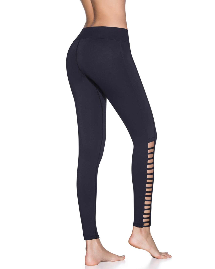CAMERA SHY BLACK EMANA MID RISE FULL LEGGING MAAJI 1843ALL01