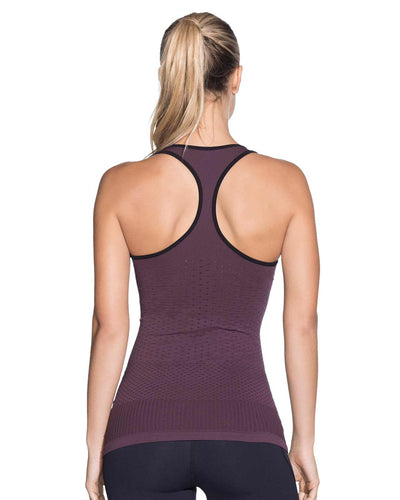 ECLIPSE AMETHYST SEAMLESS TECH TANK TOP MAAJI 1851ATT01