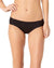 RICH BLACK SHIRRED TAB BIKINI BOTTOM BY COLE OF CALIFORNIA