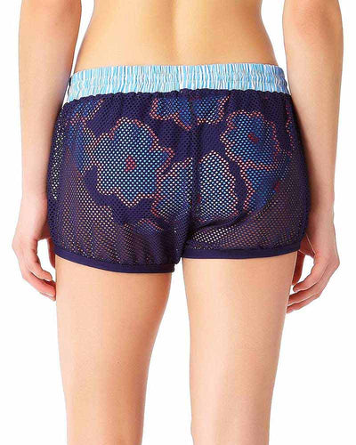 CORDINATION MESH SHORTY COVER UP ANNE COLE 18LC50376-MULT
