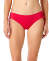 LIVE IN COLOR BERRIED TREASURES SIDE TIE BIKINI BOTTOM ANNE COLE 18MB30001-BERY