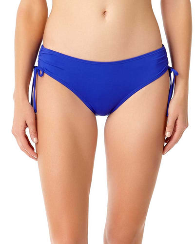 LIVE IN COLOR BLUEBERRY MUFFIN SIDE TIE BIKINI BOTTOM ANNE COLE 18MB30001-BLBE
