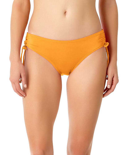 LIVE IN COLOR TIGER LILY SIDE TIE BIKINI BOTTOM ANNE COLE 18MB30001-ORG