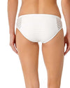 CROCHET ALL DAY WHITE CROCHET BIKINI BOTTOM ANNE COLE 18MB31403-WHT