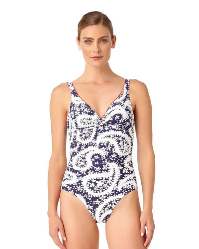 PATTIE PAISLEY UNDERWIRE ONE PIECE ANNE COLE 18MO01058-NAWH
