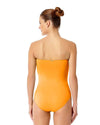 LIVE IN COLOR TIGER LILY TWIST FRONT SHIRRED BANDEAU ONE PIECE ANNE COLE 18MO00501-ORG