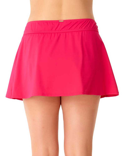 LIVE IN COLOR BERRIED TREASURES ROCK SWIM SKIRT ANNE COLE 18PB40001-BERY
