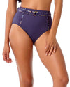 DENIM DAYS HIGH WAIST BIKINI BOTTOM ANNE COLE 18SB32503-DEN