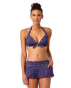 DENIM DAYS SKIRTED BIKINI BOTTOM ANNE COLE 18SB41003-DEN