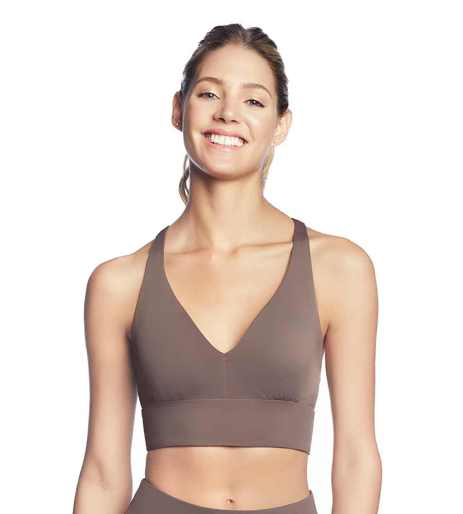 5ace1772d6 WHISPERING COCOA LOW IMPACT SPORTS BRA BY MAAJI - Kayokoko Swimwear USA