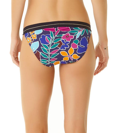 CALI FLORAL NAVY ELASTIC WAIST BOTTOM COLE OF CALIFORNIA 19CB30013-NVCO