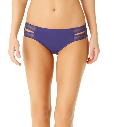 NAVY MESH MIX DOUBLE SIDE TAB BOTTOM COLE OF CALIFORNIA 19CB30701-NAVY