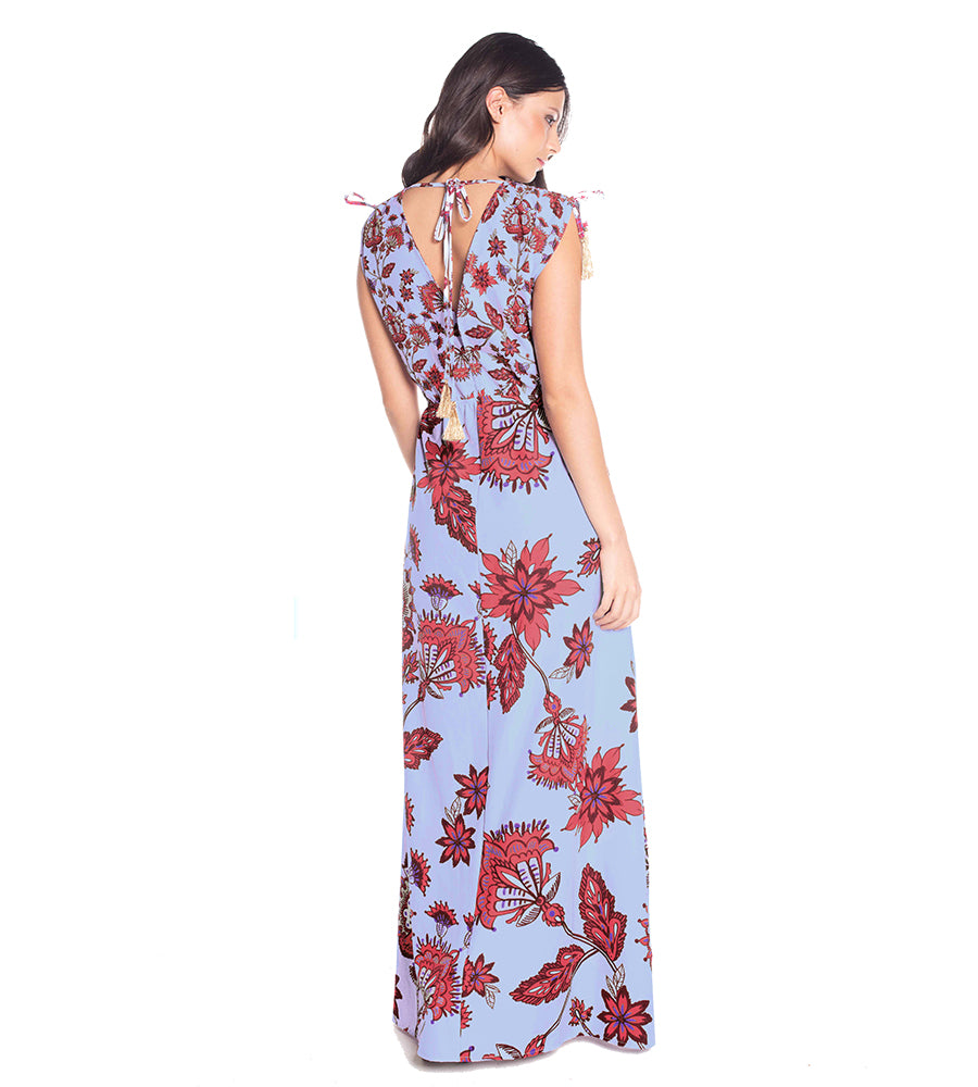 SPROUT PLAYA LONG DRESS BY SAHA