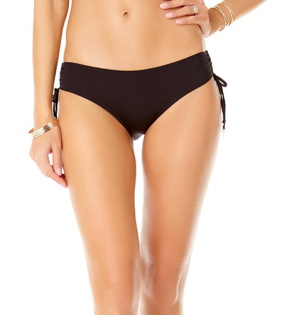 BLACK ALEX SIDE TIE BIKINI BOTTOM ANNE COLE 19MB30001-BLK