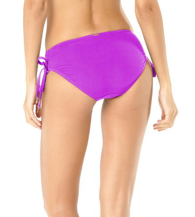 SPACE JAME PURPLE ALEX SIDE TIE BIKINI BOTTOM ANNE COLE 19MB30001-PURP