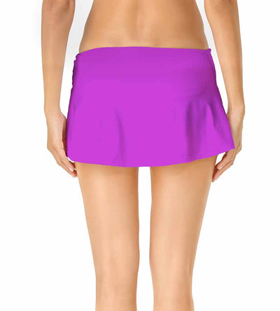 SPACE JAM PURPLE ADJUSTABLE SARONG SWIM SKIRT ANNE COLE 19MB40701-PURP