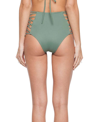 PALM DAMIA CHEEKY HIGH WAIST BOTTOM TORI PRAVER 1R18SBDMSO-PLM