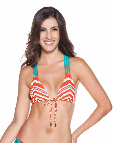 CALYPSO STRAPPY TRIANGLE TOP ONDADEMAR 21163-LYP