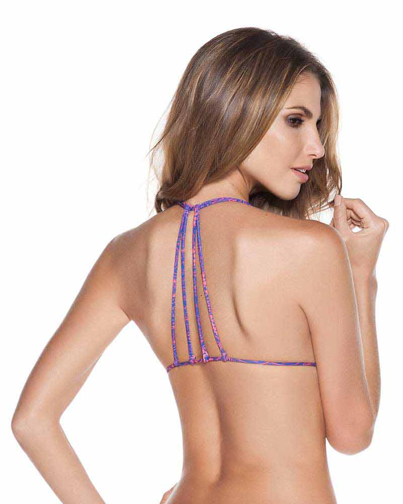 MALESIA STRAPPY TRIANGLE TOP BY ONDADEMAR