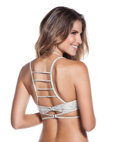 CASCABEL STRAPPY TRIANGLE TOP ONDADEMAR 21167-BEL