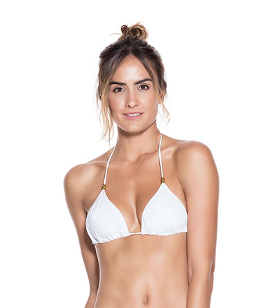 WHITE EVERY DAY TRIANGLE TOP ONDADEMAR 2117-EVY-0000