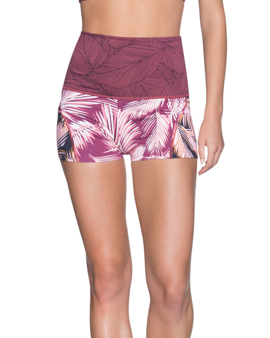 BORDEAUX WAVES SHORTS MAAJI 2118SSF01
