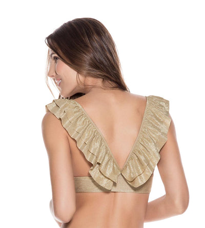 NEBULAS RUFFLE TOP ONDADEMAR 21237-NEB