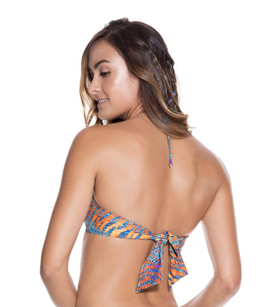 TURMERIC HIGH NECK TOP ONDADEMAR 21242-ERI