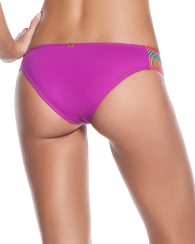 EVERY DAY IN COLORS ORCHID EMBELLISHED LOW RISE BOTTOM ONDADEMAR 22135-EVYC-4004