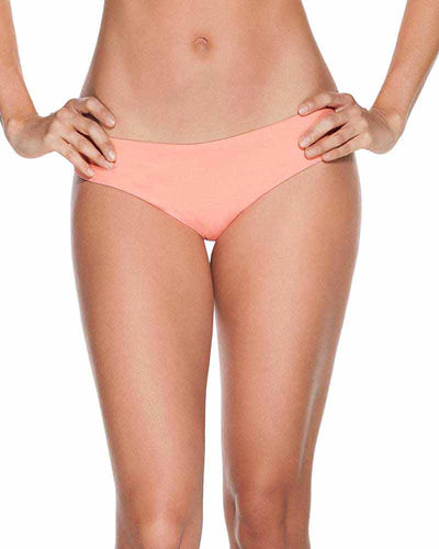 EVERY DAY IN COLORS NEON CORAL BASIC BOTTOM ONDADEMAR 22129-EVYC-9003