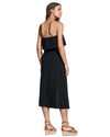 BLACK STRAPLESS DRESS VIX 294-807-001