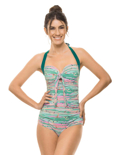 PINK SKIES KNOTTED ONE PIECE ESTIVO 3071-PIN-02