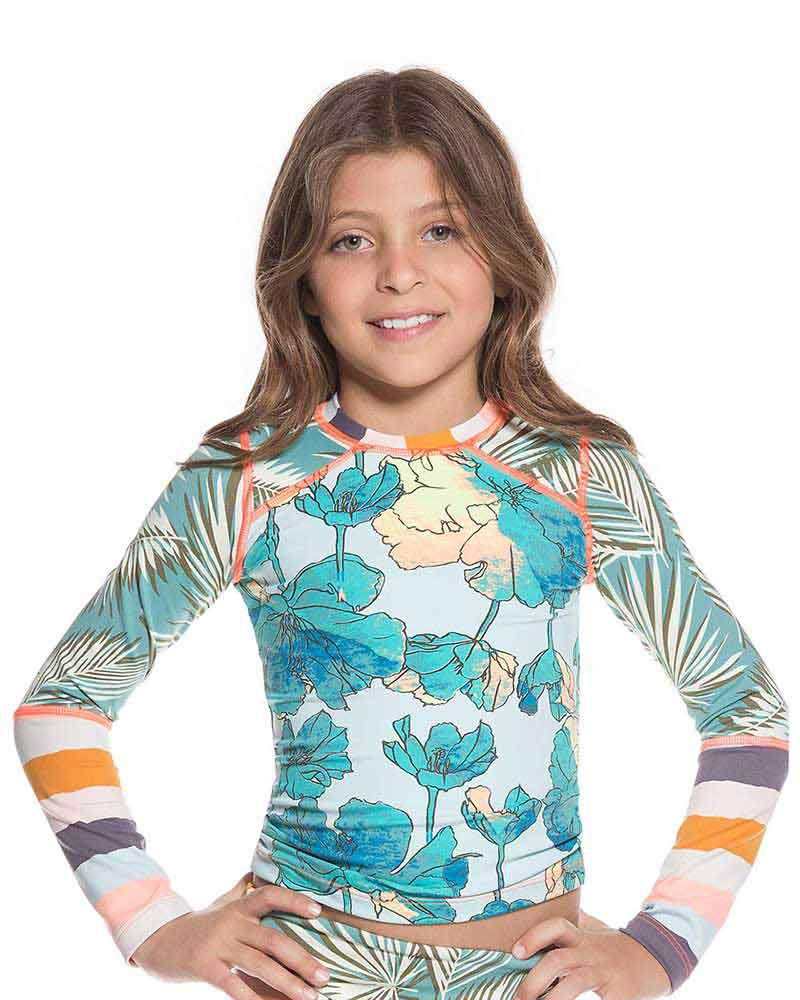 AQUARELLE RIVER KIDS RASHGUARD BY MAAJI