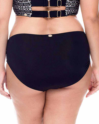 BLACK DIAMOND SHIRRED BOTTOM CURVE 308BBADI