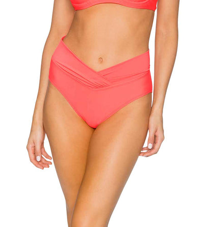 BRIGHT GUAVA SUMMER LOVIN V-FRONT BOTTOM SUNSETS 31BBRGU