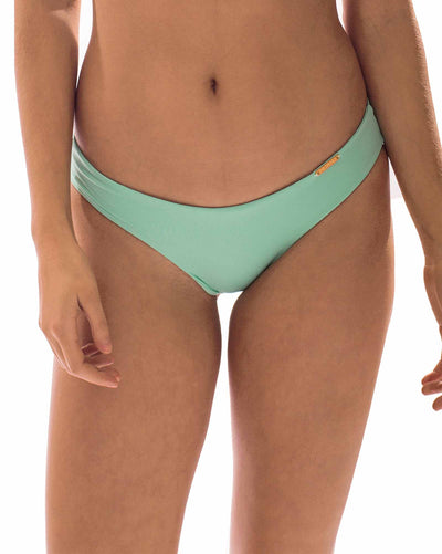 MINT GREEN SQUEEZE BOTTOM BIKINIMA 321B
