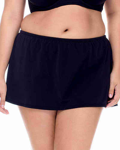 BLACK KOKOMO SWIM SKIRT CURVE 336BBLCK