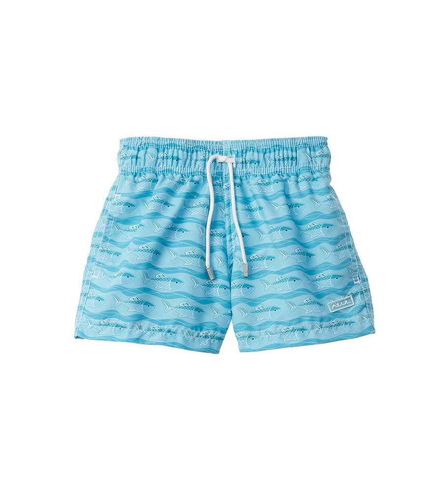WONDER FISH SWIM SHORTS AZUL 344