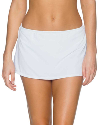 WHITE KOKOMO SWIM SKIRT BOTTOM SUNSETS 36BWHIT