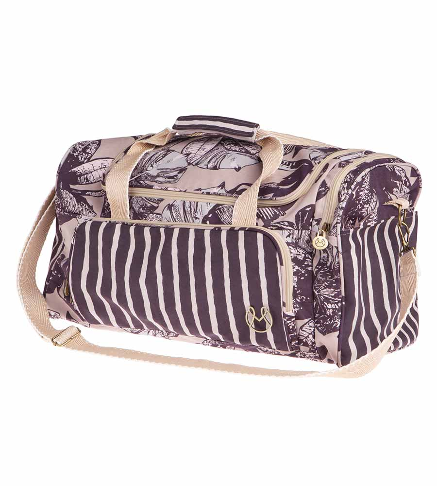 PURPLE LEAF WEEKENDER BAG MAAJI 4004XWK01