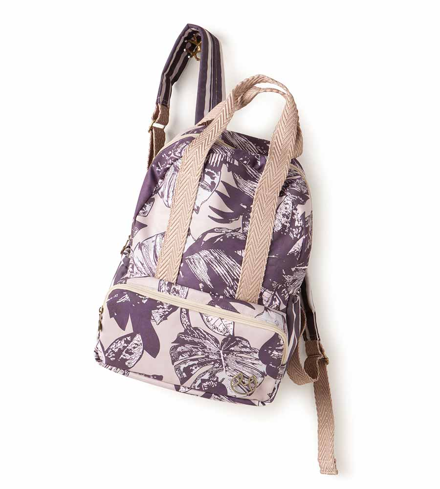 PURPLE LEAF BACKPACK MAAJI 4005XBP01