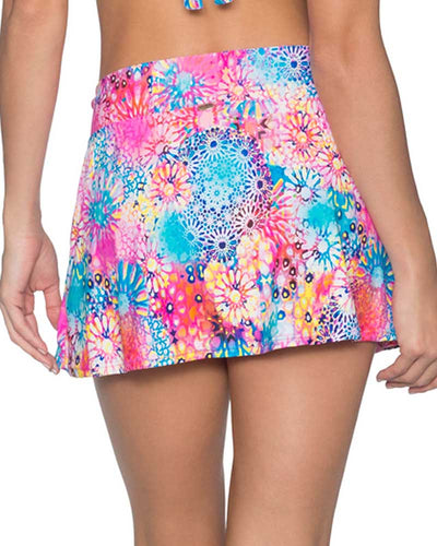 WHIMSY SUMMER LOVIN SWIM SKIRT SUNSETS 41BWHMY