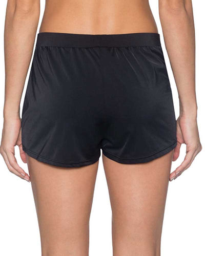 BLACK MARINA SWIM SHORTS SUNSETS 43BBLCK