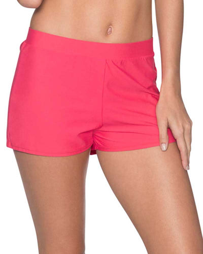 LOVER'S CORAL MARINA SWIM SHORTS SUNSETS 43BLVCO