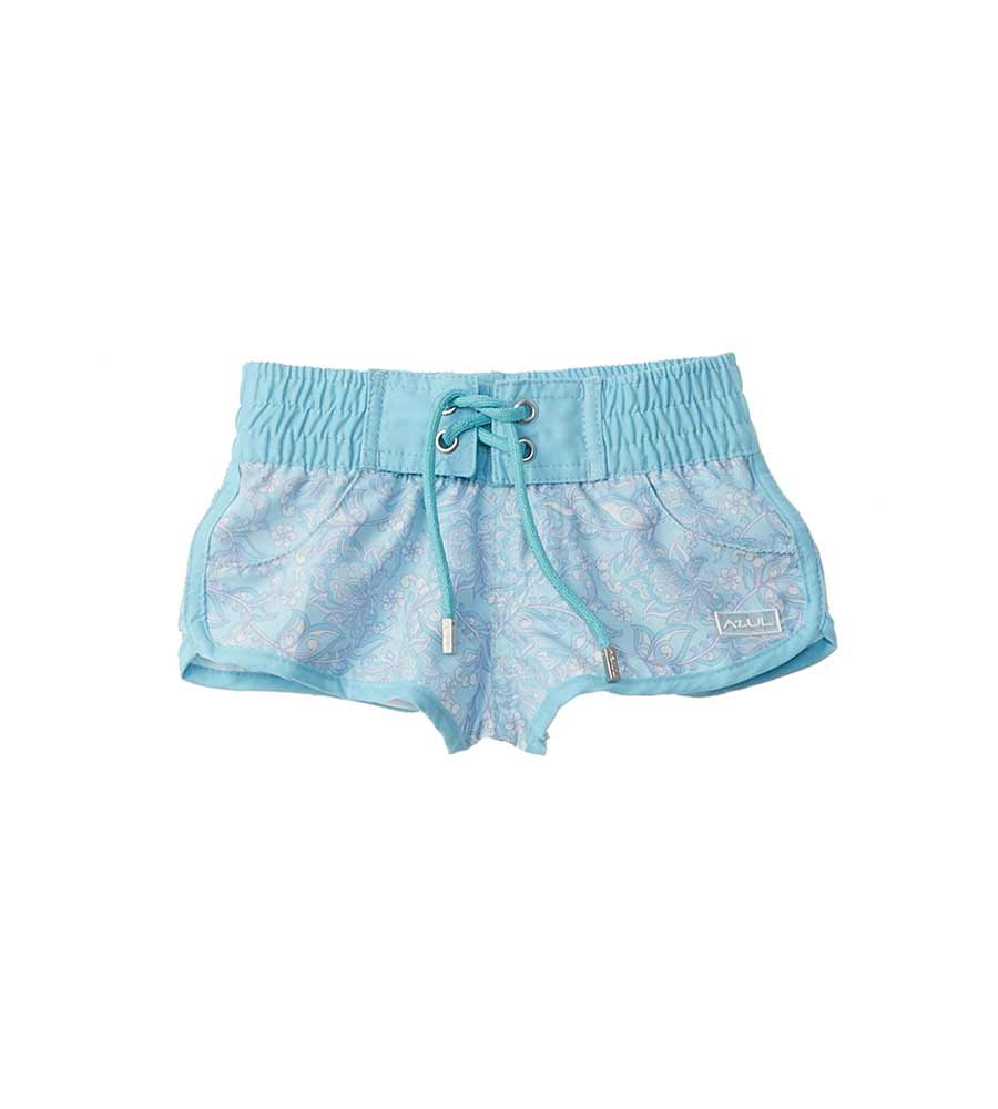 BABY'S BREATH GIRLS SWIM SHORTS AZUL 440