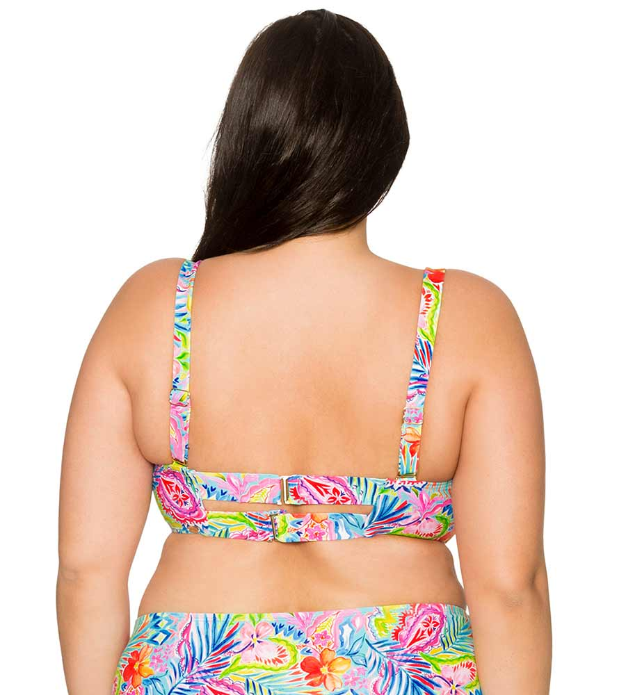 SIESTA KEY ICONIC TWIST BANDEAU TOP CURVE 555TSIKY