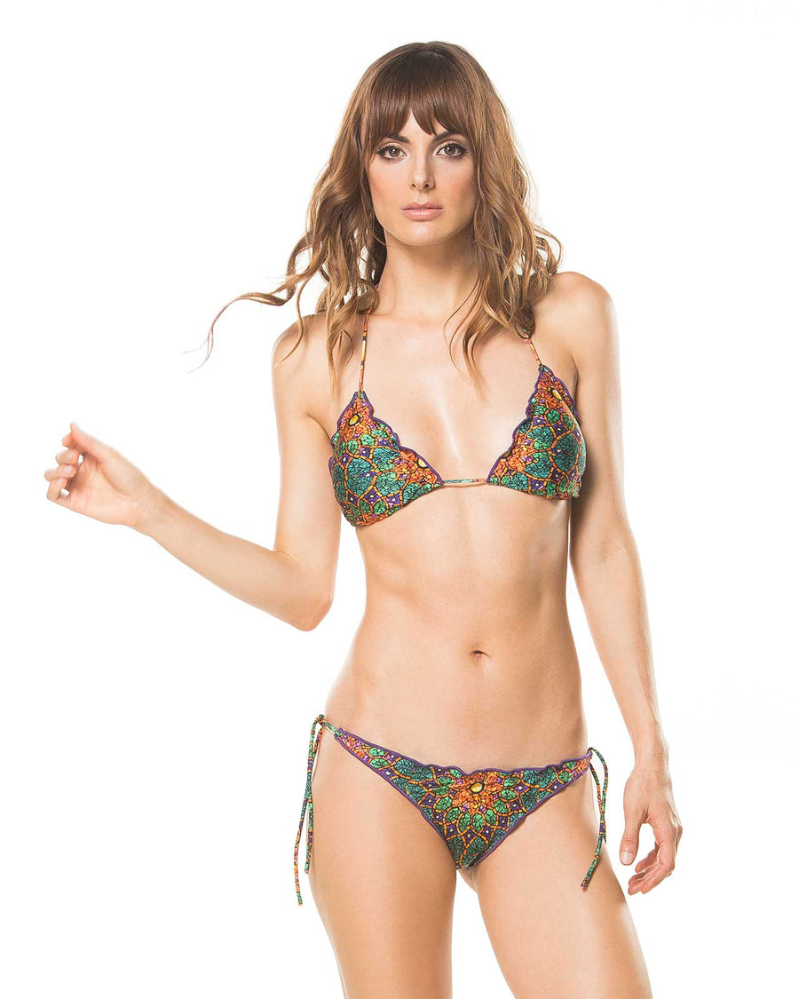MANDALA TIE SIDE BOTTOM ETERNO VERANO 6008B